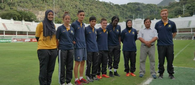 FIFA World Cup, Brazil, with Assmaah