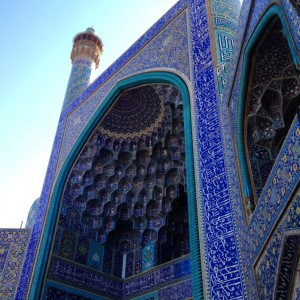 Isfahan's resplendent imam Mosque © S.Mantoo