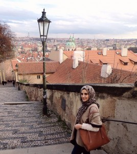 Shabia in Prague's old town, Czech Republic
